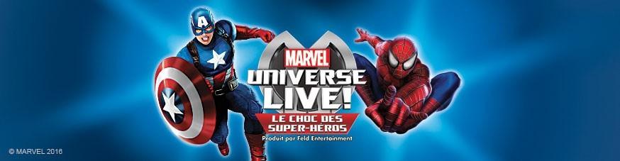 Marvel et les super-heros à Bercy 2016