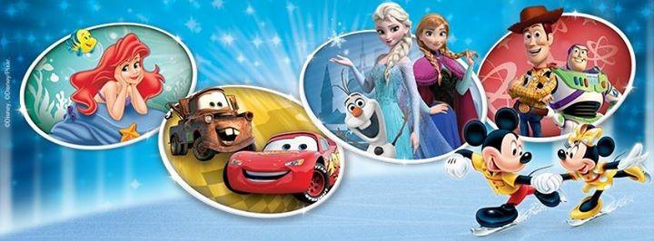 Bandeau annonce Disney sur glace 2015 2016