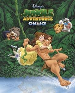 Disney sur glace 2004 - Les Aventures de la jungle sur glace