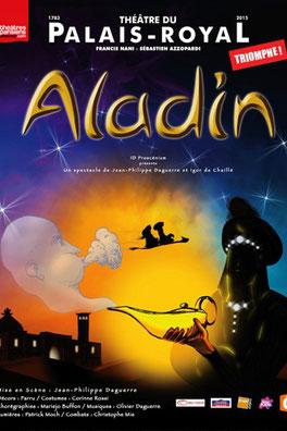 Aladin au théâtre du Palais Royal décembre 2020 Spectacles de noël