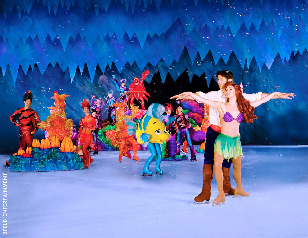 Disney sur glace 2015 au z nith offres groupe noel - Les sainte glace 2017 ...