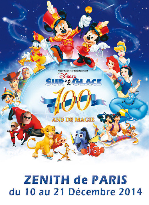 Disney sur Glace 2014 Nouveau Spectacle