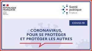 Affiche prévention coronavirus se protéger et protéger les autres