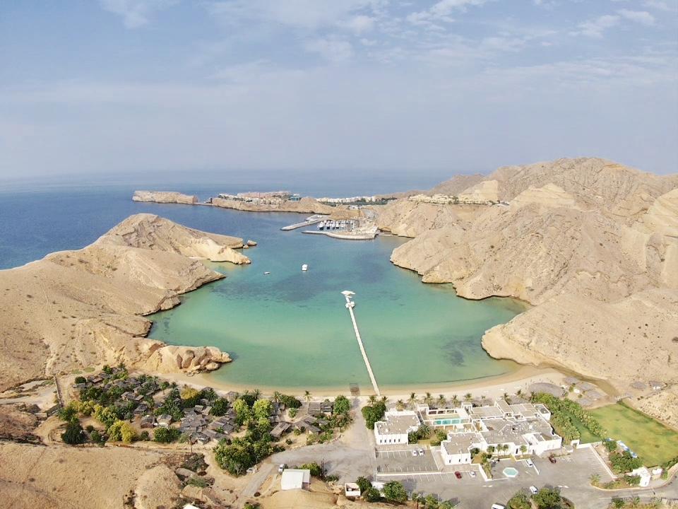 Drone View Muscat Hills Resort
