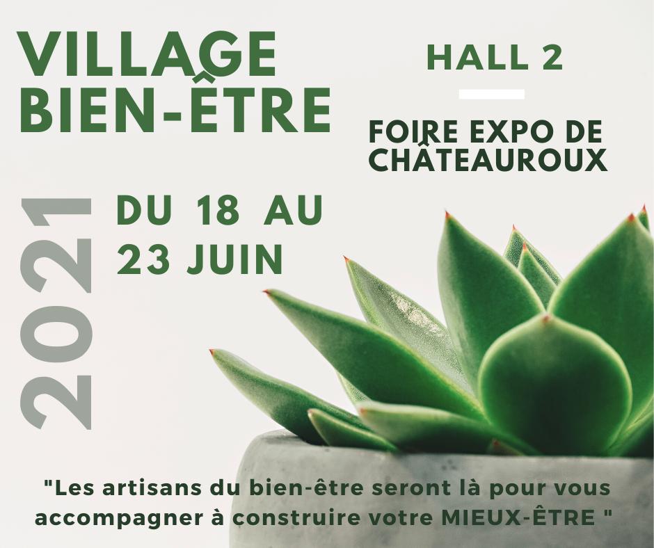 Village Bien-être - Foire exposition de châteauroux