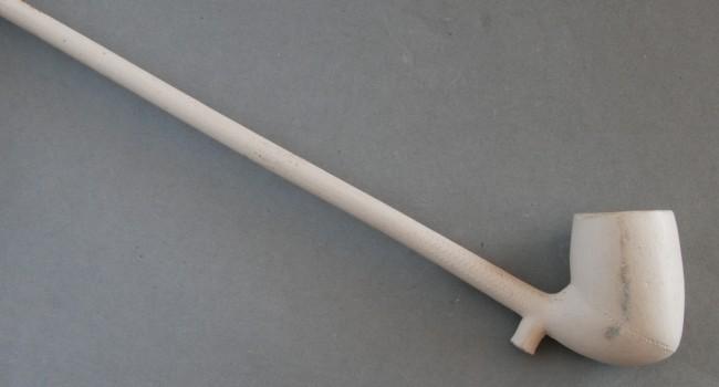 Cat nr 287, Omgezette Wapen van Gelderland, 21 duimer. Lengte steel ca 49 cm