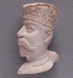 King George, pijp gemaakt door Goedewaagen uit een van oorsprong Engelse Persmal