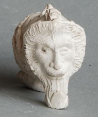 Cat nr 219 Gerard, tueur de lions ; leeuwekop met tekst GERARD