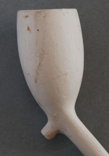 Goedewaagen Cat nr 53 'Hollandschje gekroonde 82', in catalogus met hielmerk 82, deze met IWI. Lengte steel 17 cm