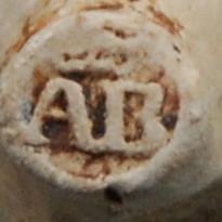 Een kleine ovoide kop, ca 1740 Gouda