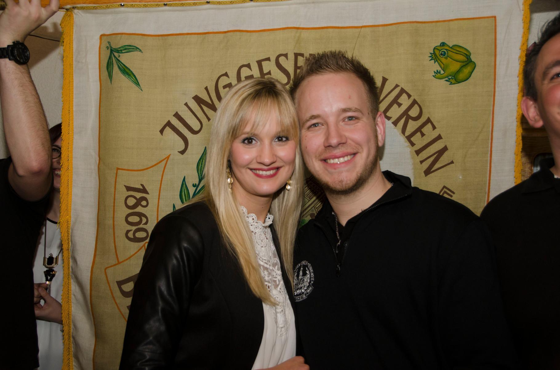 Königspaar: Kimberley Schild & Tim Adscheid