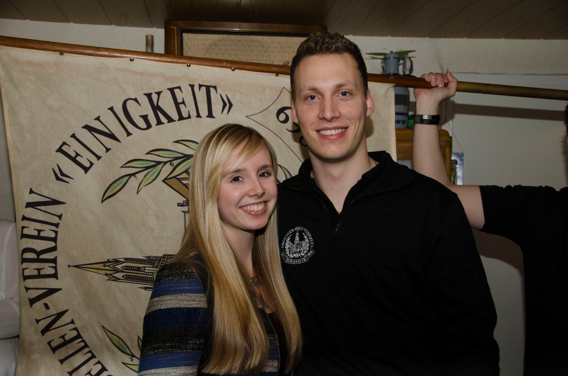 1. Maigrafenpaar: Andrea Oster & Marius von Seggern