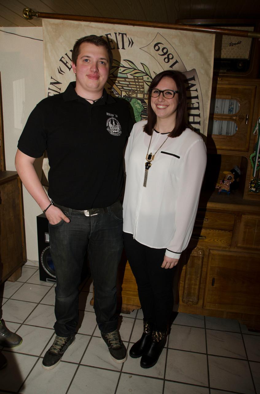 2. Maigrafenpaar: Kimberly Boss & Frederik Brock