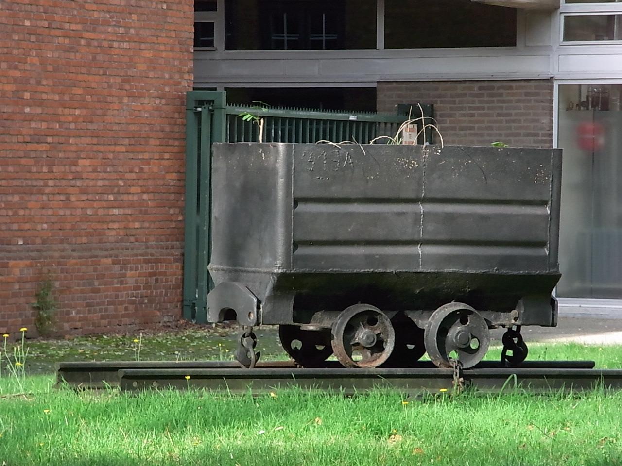Ein alter Grubenwagen