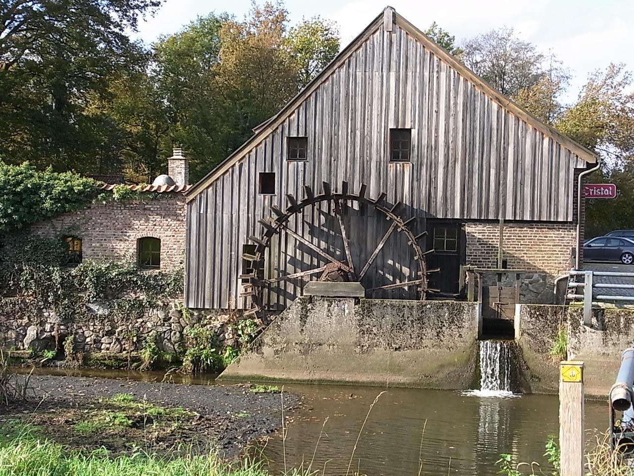 Eine alte Mühle bei Genk