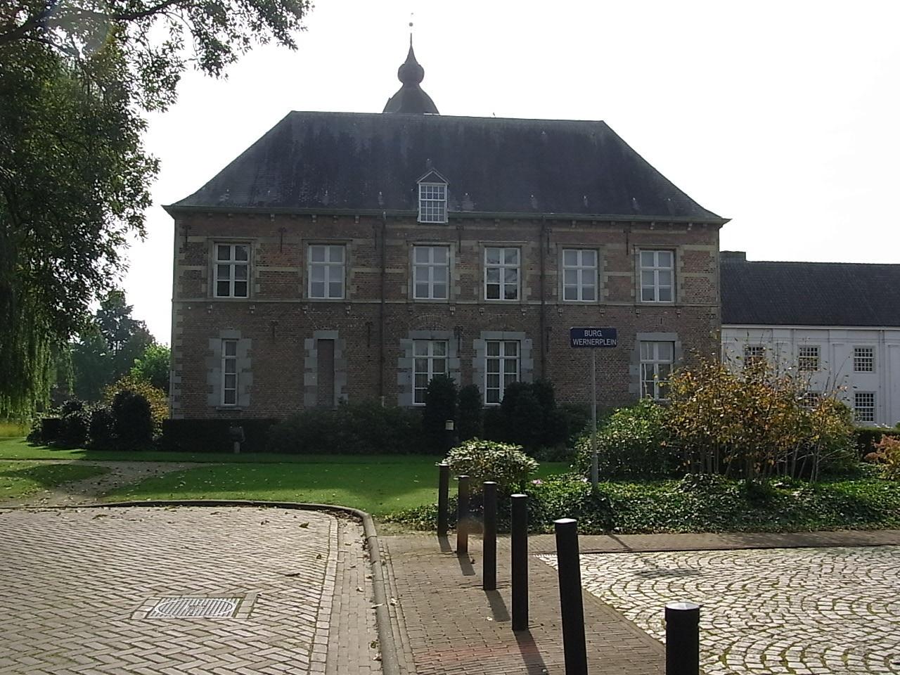 Burg Wernerplein in Sint-Oedenrode