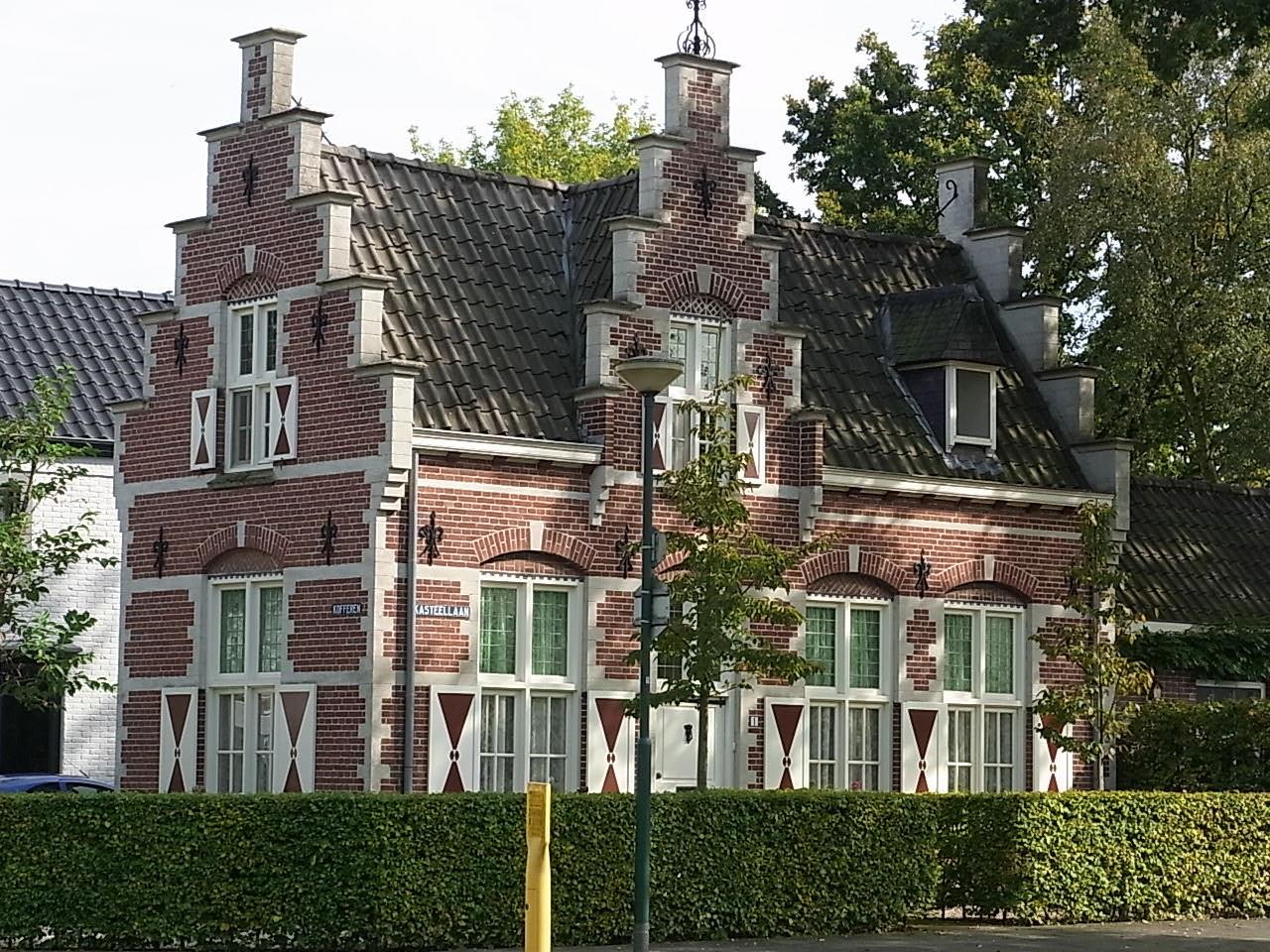 Schöne, eindrucksvolle Häuser