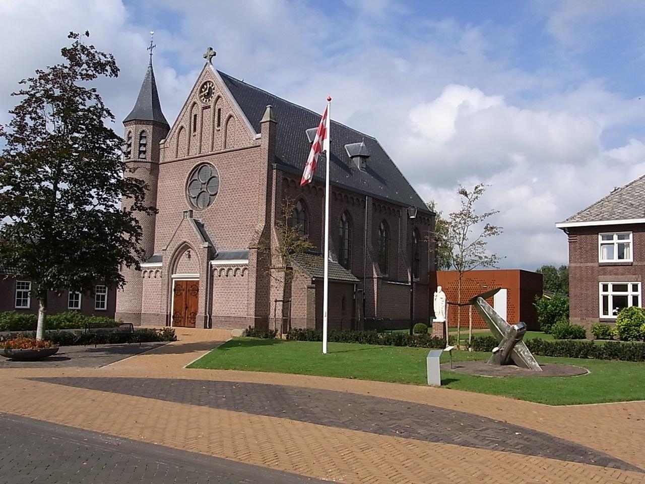 Schöne Kirche in Westerbeek