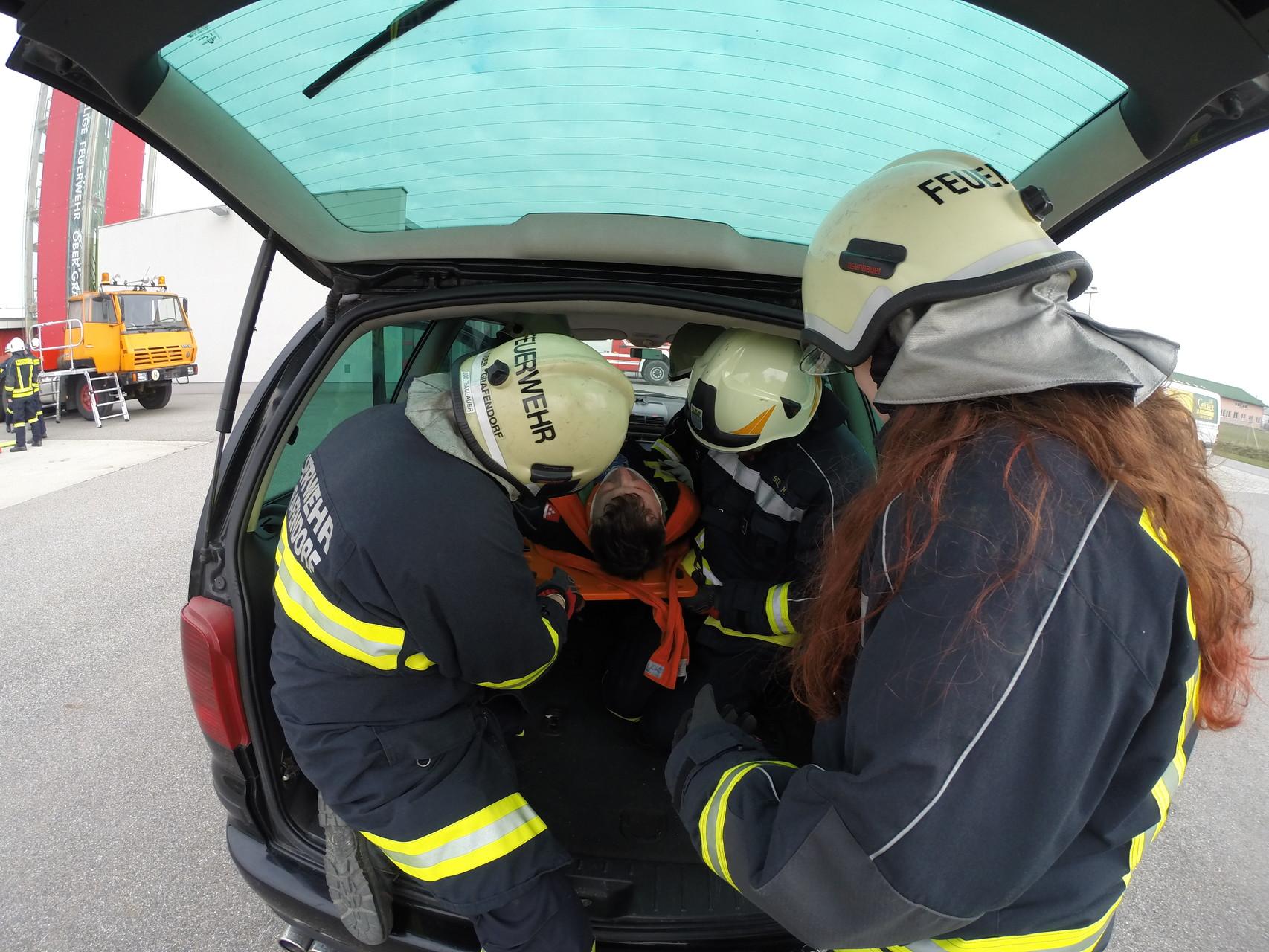 Rettung via Heckklappe