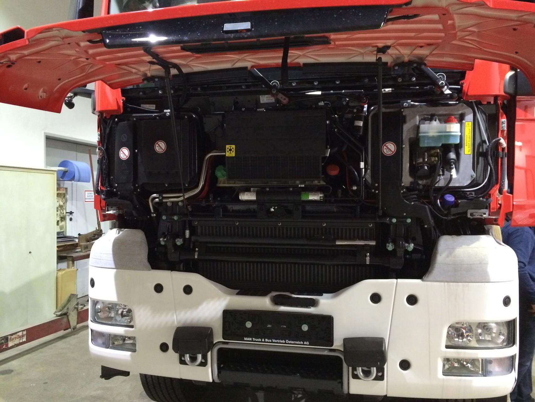 Fahrzeugtechnik - Baustelle