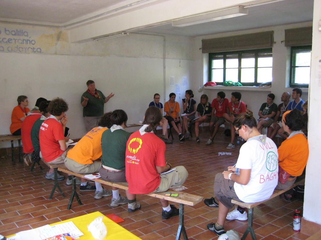 Una aula lezioni