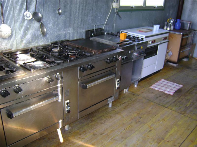 Dotazioni cucina esterna