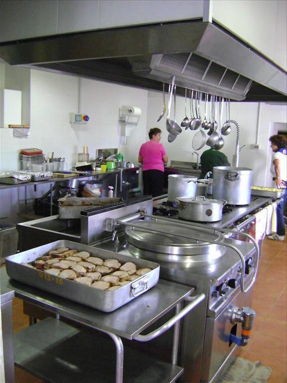 4.  Cucina centrale