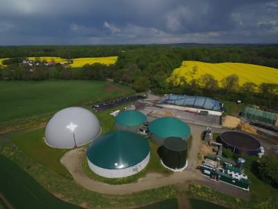 Biogasanlage Hof Hörnsee