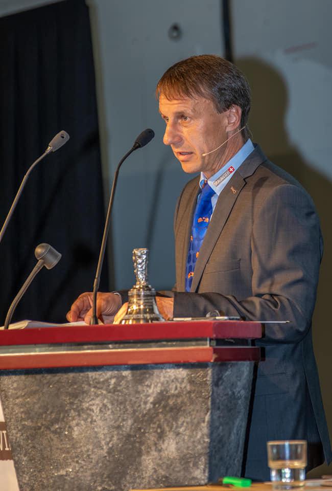 Präsident Reto Gründnfelder