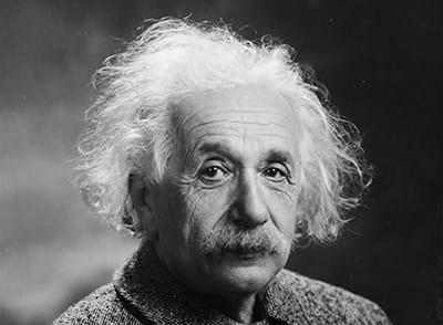 Albert Einstein, Physiker und Nobelpreisträger.
