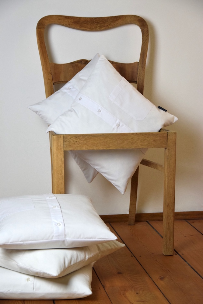Hemdkissen in Weiß