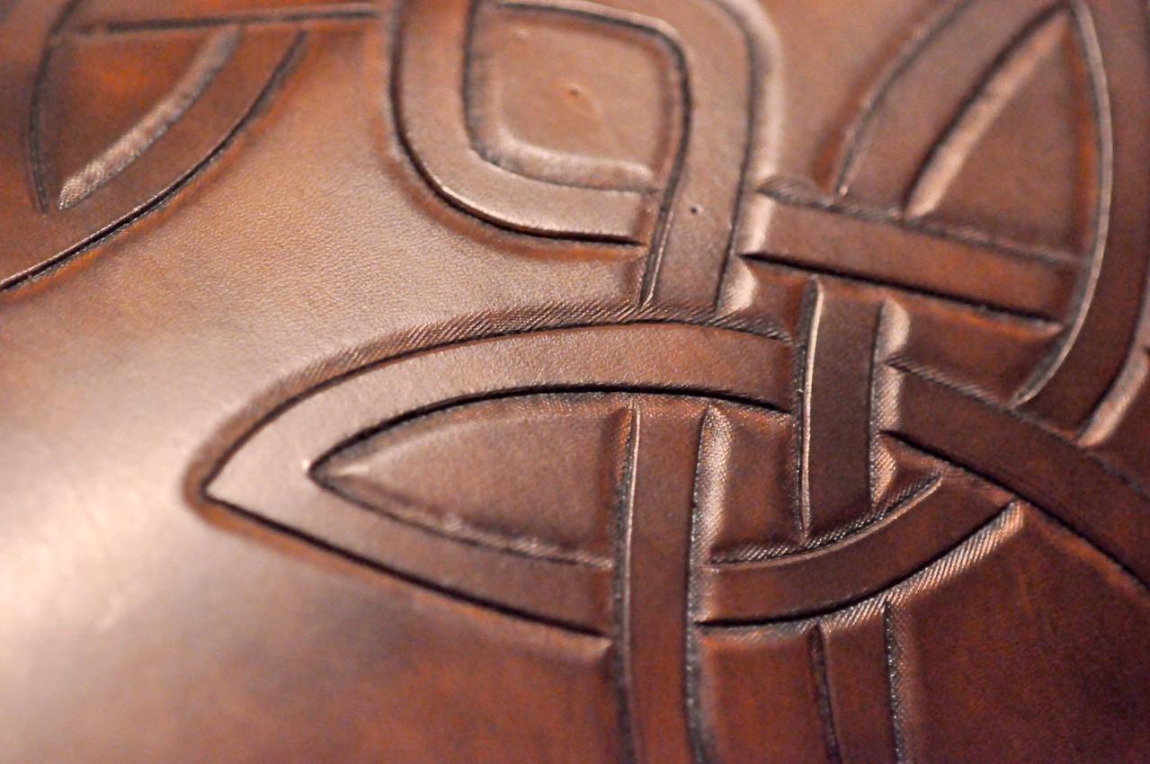 Truhe Detail der Deckelansicht