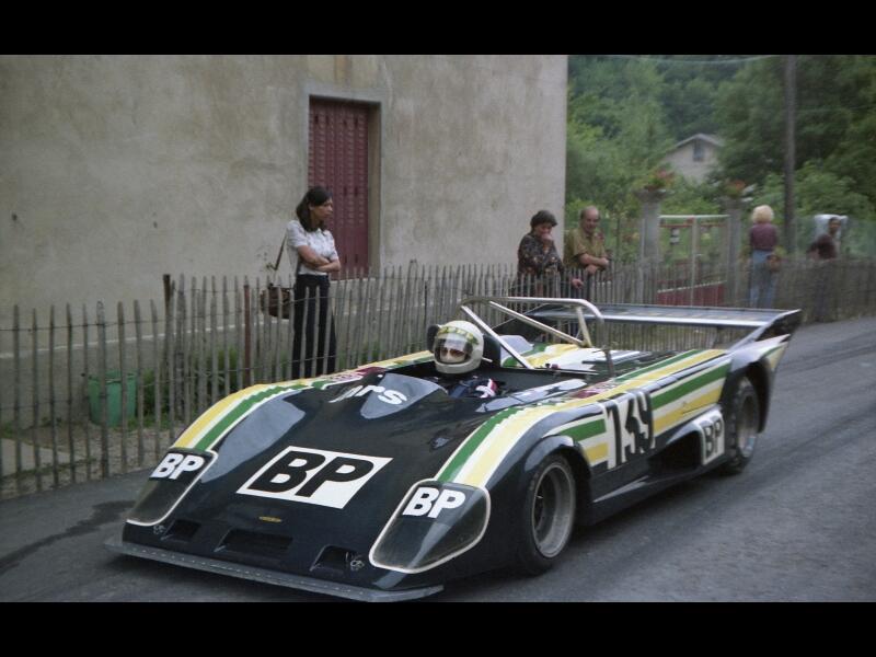 Marc Montmayeur en 1978 : Lola T 297 / BMW