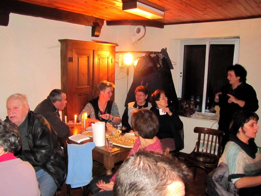 Pot de fin d'année, entre voisins, à Chatillon. (édition 2015)