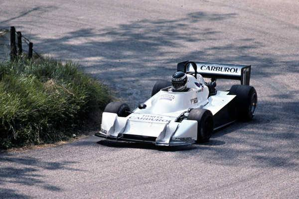 Marcel Tarrés en 1982 Martini MK 25 / BMW