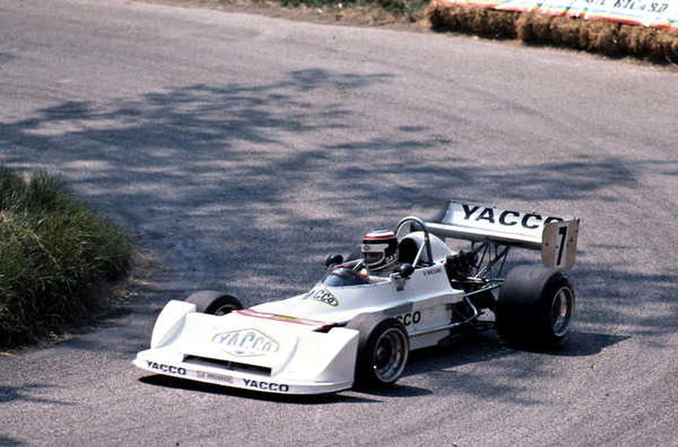 """Daniel Boccard """"l'enfant du pays"""" en 1982: Chevron / ROC"""