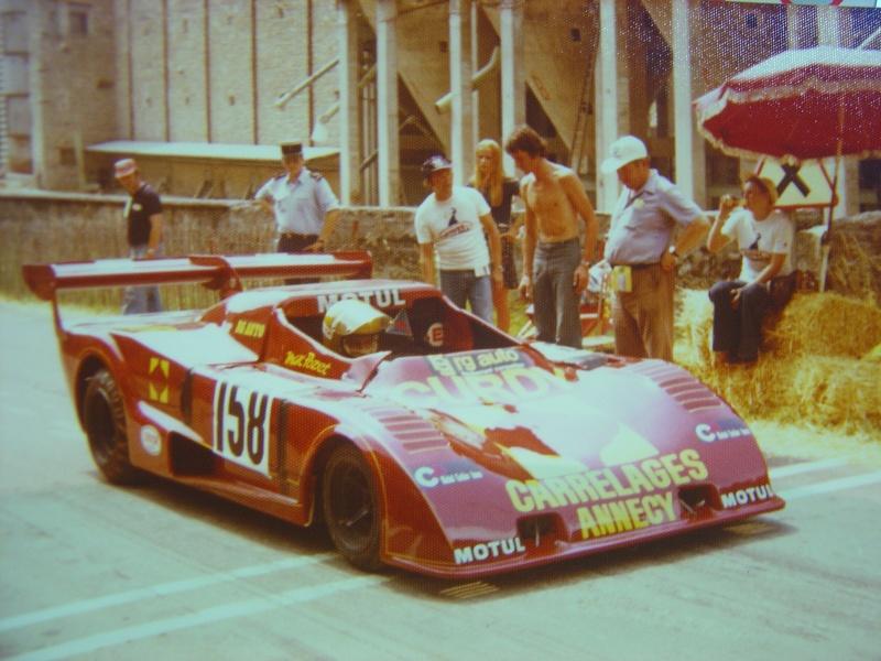 Marc Pozet en 1976 : Lola T 294 / ROC