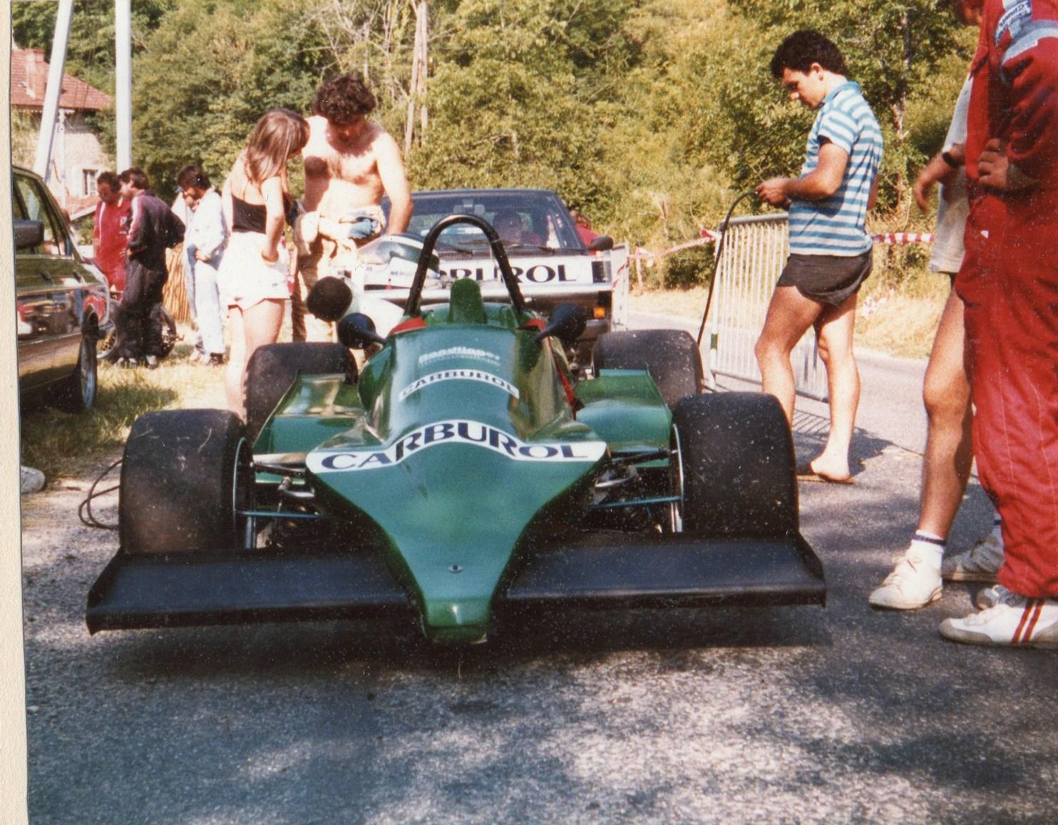 Nany Nerguti en 1984 : Martini MK 28 /