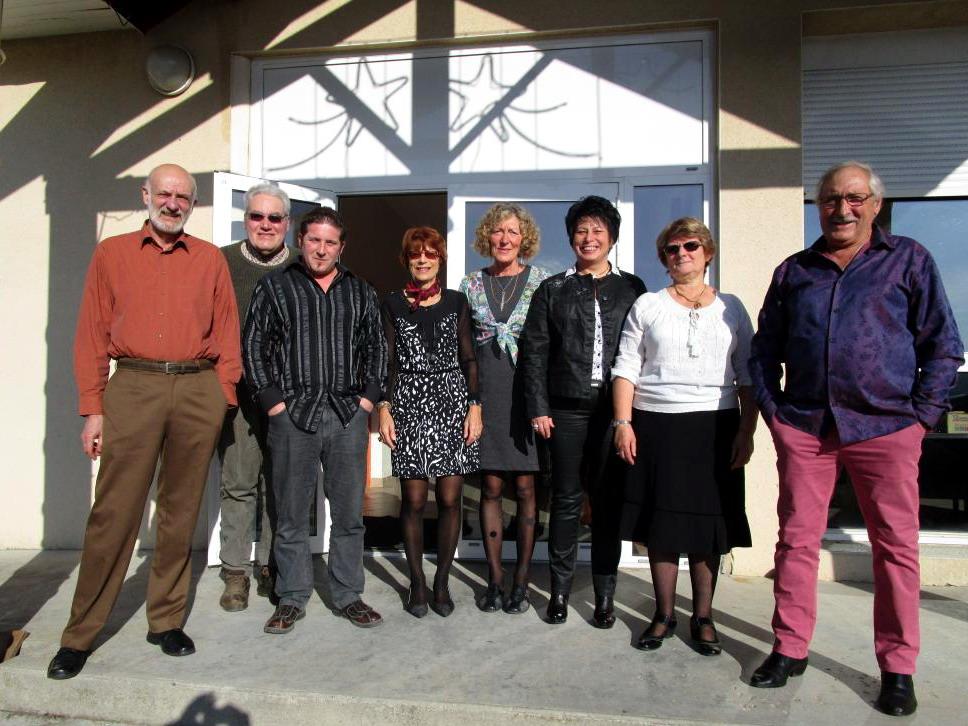 Repas des aînés, organisé par le CCAS  et la municipalité, édition 2016 - les membres de l'organisation