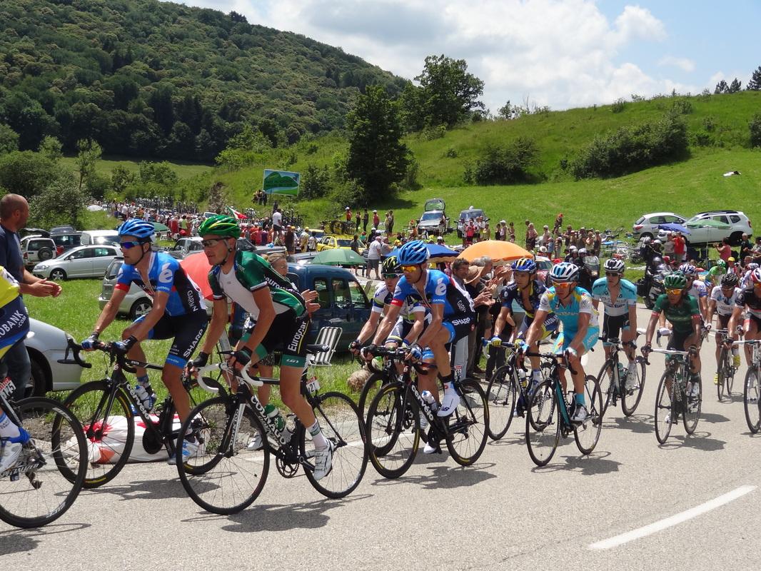 Le Tour de France 2007 de passage sur notre commune.