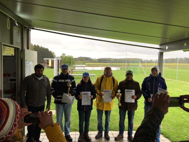 Die Sieger des ersten Teilwettbewerbs