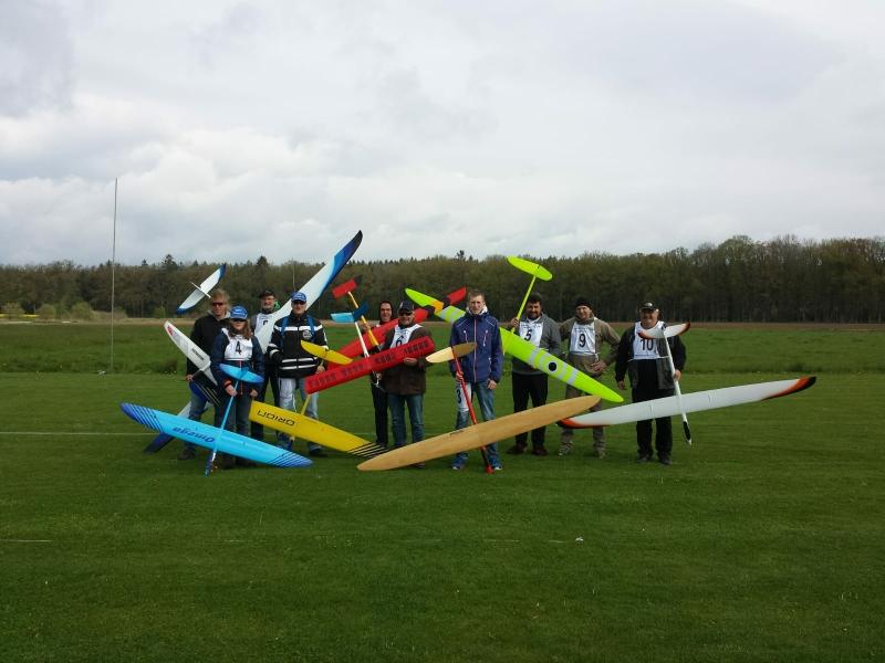 Die Teilnehmer trotzten dem Wetter