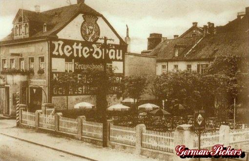 AK / Foto - Nette Bräu Hausreklame um 1910 in Weissenthurm
