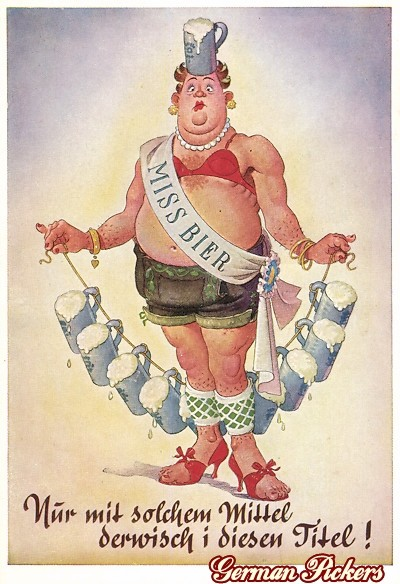 AK Miss Bier - Nur mit diesem Mittel derwisch i den Titel