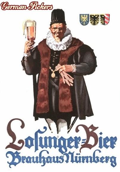 AK Losunger Bier Nürnberg Brauhaus