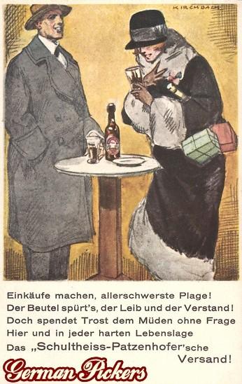 AK Schultheiss Patzenhofer Berlin