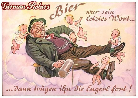AK Bier war sein letztes Wort dann trugen ihn die Engerl fort