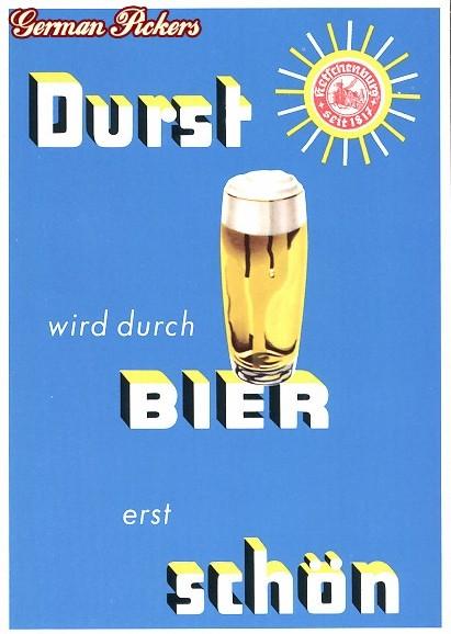 AK Durst wird durch Bier erst schön