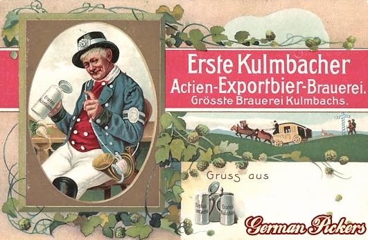 AK Erste Kulmbacher Actien Exportbier Brauerei