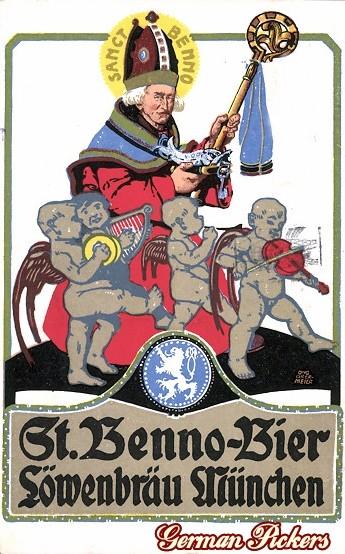 AK St. Benno Bier - Löwenbräu München